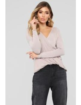 Come Over Top   Mauve by Fashion Nova