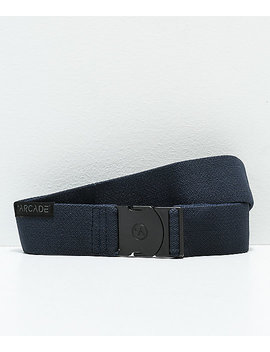 Arcade Ranger Navy Clip Belt by Arcade Belts
