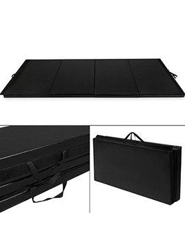 Giantex 4'x10'x2 Gymnastics Mat Folding Panel Thick Gym Fitness Exercise Christmas Gift by Giantex