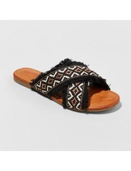 Women's Jupiter Cross Band Slide Sandals   Universal Thread™ by Shop All Universal Thread™