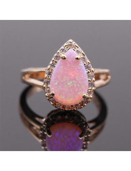 Gemstone Moon Stone Fire Opal 925 Silver Ring Wedding Proposal Party Ring Sz6 10 by Unbranded