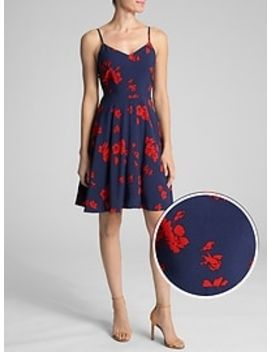 Cami Fit And Flare Dress by Gap