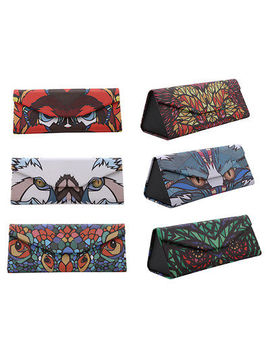 Portable Animal Cartoon Foldable Sunglasses Case Eyewear Glasses Storage Box Ld by Unbranded