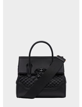 Quilted Nappa Leather Palazzo Empire Bag by Versace