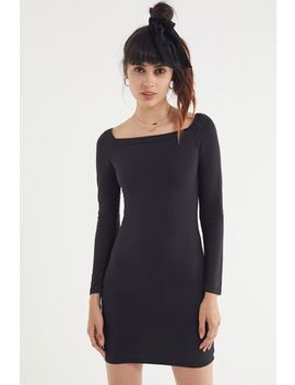 Uo Mariella Square Neck Mini Dress by Urban Outfitters