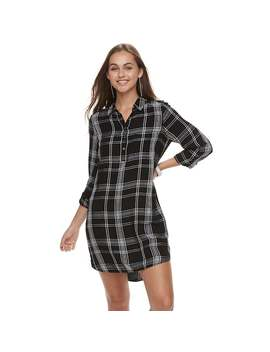 Juniors' So® Utility Shirtdress by Juniors' So