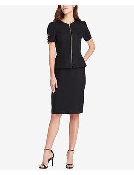 Peplum Skirt Suit by Tahari Asl