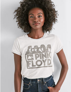 Pink Floyd Ringer Tee by Lucky Brand