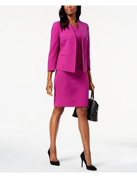 Flyaway Jacket & Dress Suit by Le Suit