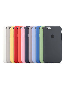 Original Silicone Case For Apple I Phone 8 Plus X 7 6 5 5 S Se Genuine Oem Cover by Unbranded/Generic