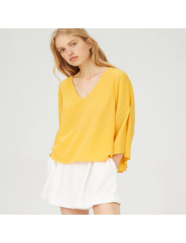 Orie Silk Top by Club Monaco