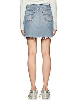 High Rise Levi's® Miniskirt by Re/Done