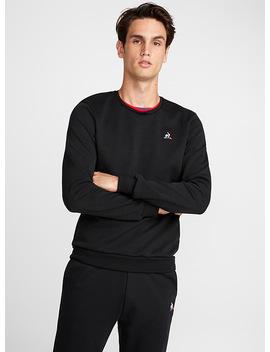 Tricolour Neck Sweatshirt by Le Coq Sportif Le Coq Sportif Nike Le Coq Sportif New Balance