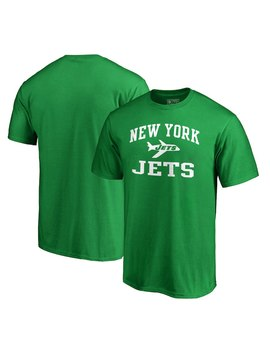 New York Jets Nfl Pro Line By Fanatics Branded Vintage Victory Arch T Shirt – Kelly Green by Nfl Pro Line By Fanatics Branded