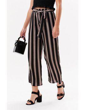 Striped Tie Front Pants by Ps / La