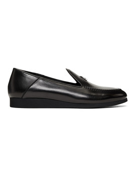 Black Convertible St. Marks Loafers by Alyx
