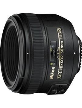 Af S Nikkor 50mm F/1.4 G Standard Lens   Black by Nikon
