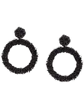 Sachin & Babifloral Hoop Earringshome Women Sachin & Babi Jewelry Earrings Era Lip Embellished Ruffle Dressfloral Hoop Earrings by Sachin & Babi
