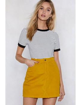 Dead Ringer Ribbed Tee by Nasty Gal
