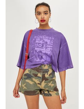 Runaway Youth T Shirt by Topshop
