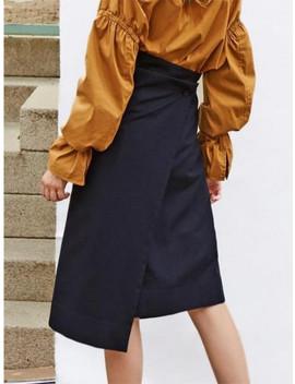 Draped Skirt 124 by Vacancess