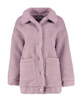 Kiera Teddy Faux Fur Coat by Boohoo