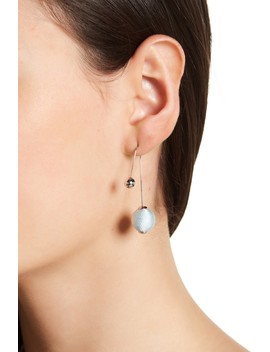 Contrast Sphere Threader Earrings by Rebecca Minkoff