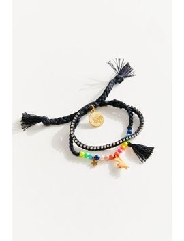 Venessa Arizaga Peace Babe Bracelet by Venessa Arizaga