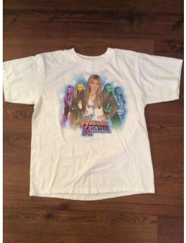 Collectible Vintage Girls Youth Large Hannah Montana Miley Cyrus Concert T Shirt by Ebay Seller