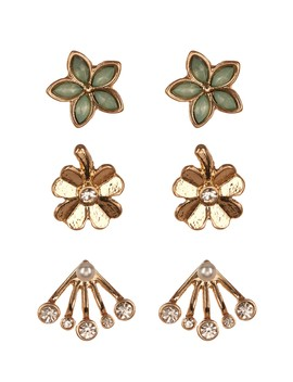 Earring Set   Set Of 3 by Joe Fresh