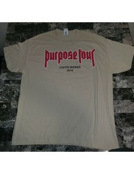 Justin Bieber Purpose Tour Shirt Xl My Mama Dont Like You Rare Kanye by Unbranded