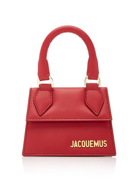 Le Chiquita Leather Tote by Jacquemus