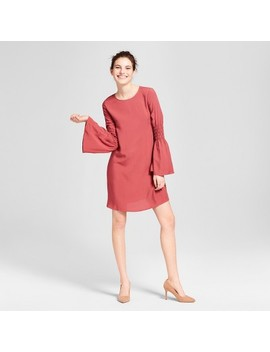 Women's Smocked Bell Sleeve Dress   Grayson Threads (Juniors') Marsala by Shop All Grayson Threads