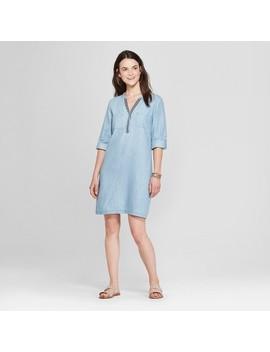 Women's Trimmed Shirt Dress   Spenser Jeremy   Indigo by Shop All Spenser Jeremy