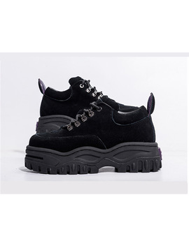 Jady Rose Black Patent Leather Women Sneakers Platform Shoes Woman Creepers Female Casual Flats Tenis Feminino Espadrilles by Jady Rose