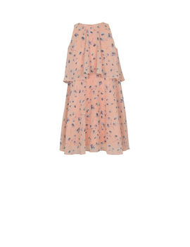 Girls' Waterfall Poppies A Line Dress by Bcbgmaxazria