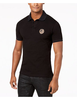 Men's Logo Polo by Versace