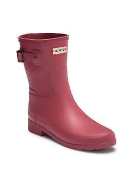 Original Refined Short Waterproof Rain Boot by Hunter