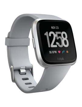 Fitbit Versa Smartwatch With Heart Rate Monitor   Grey by Fitbit