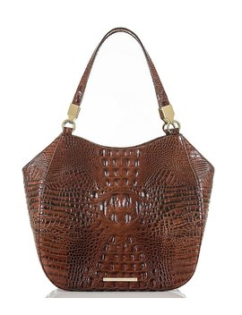 Brahmin Melbourne Collection Marianna Crocodile Embossed Tote by Generic