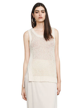 Sandi Stitched Tank Top by Bcbgmaxazria