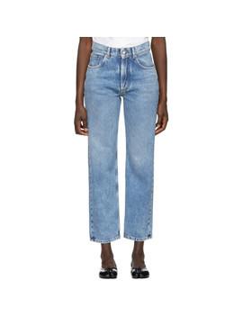 Blue Denim Jeans by Maison Margiela