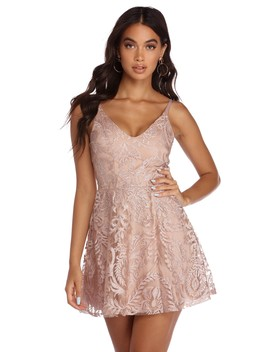 Mariana Graceful In Lace Formal Dress by Windsor