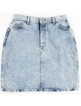 Lee Mineral Washed Denim Skirt by Lee