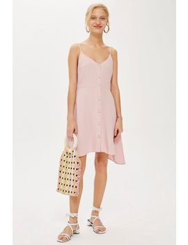 Tall Button Through Mini Dress by Topshop
