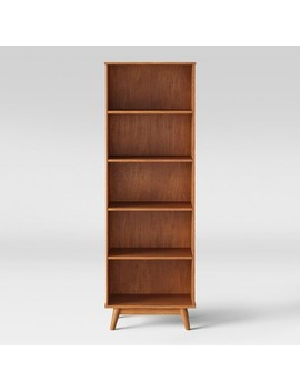 "72"" Amherst Mid Century Modern 5 Shelf Bookcase   Project 62™ by Shop Collections"