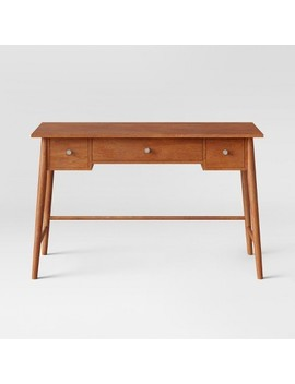 Amherst Mid Century Modern Writing Desk Brown   Project 62™ by Shop This Collection