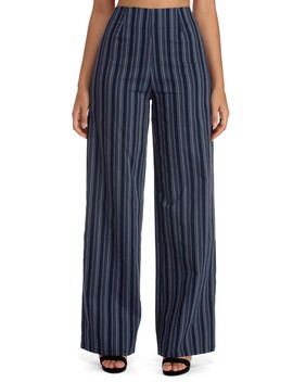 Final Sale  Nothing But Business Striped Pants by Windsor