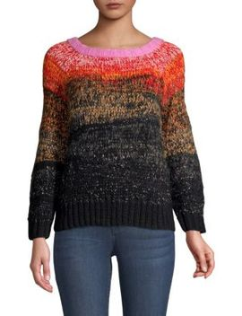 Metallic Ombre Alpaca Wool Sweater by Smythe