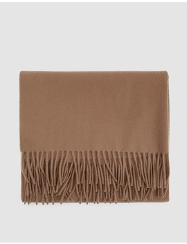 Canada Scarf In Brown by Acne Studios